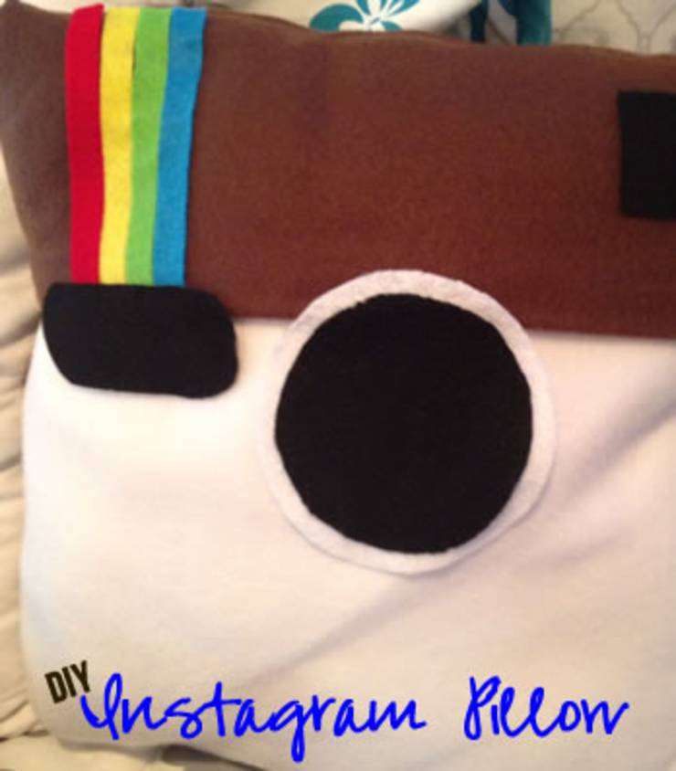 create an instagram pillow