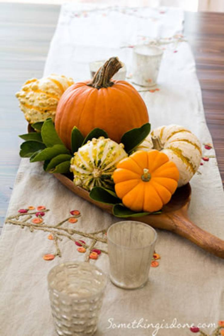 Cheap Thanksgiving Centerpieces