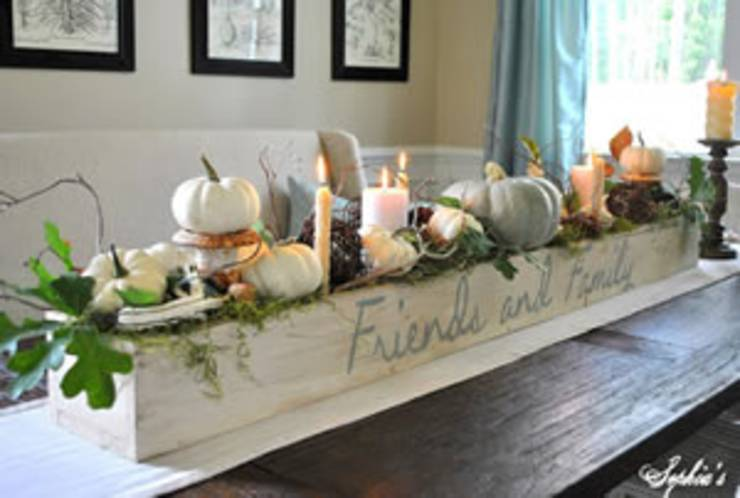 Elegant Thanksgiving Centerpiece
