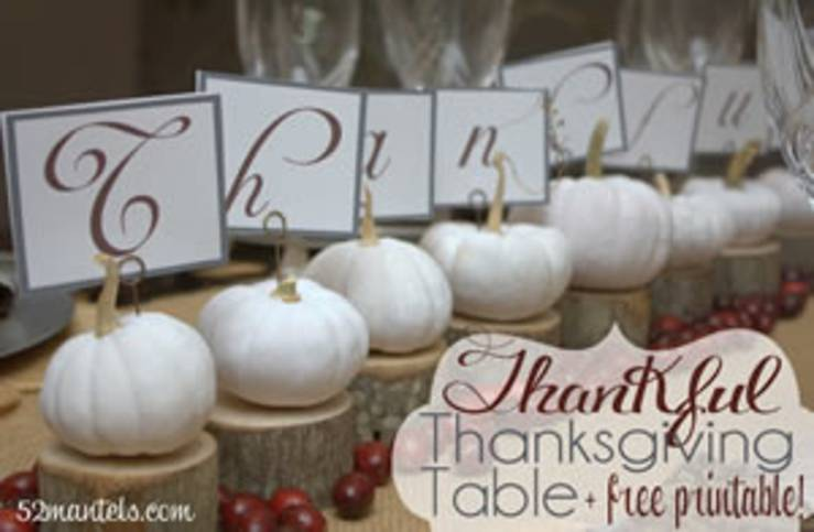 Fall Centerpiece Project Ideas