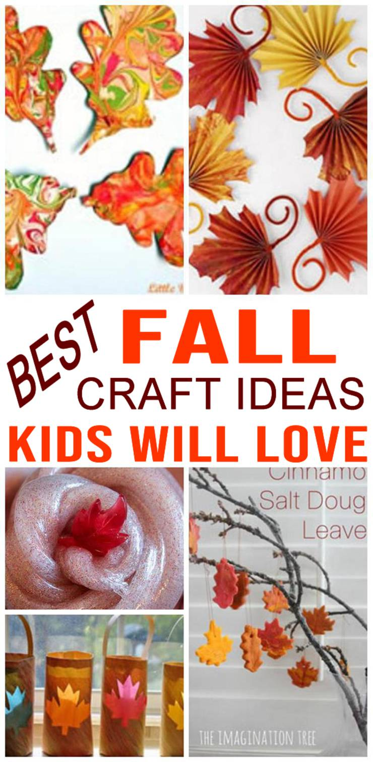 DIY KIDS FALL CRAFTS