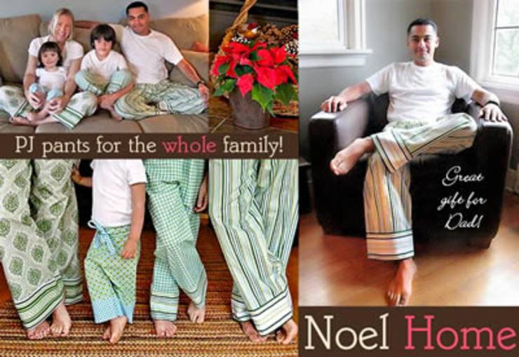 Pajama Pants Pattern For Adults and Children