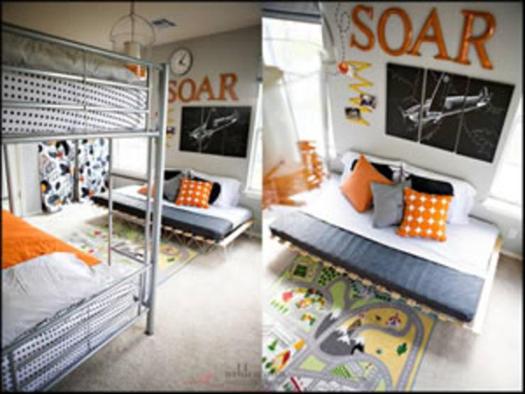airplane bedroom for boys