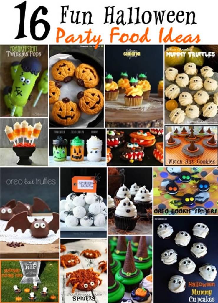 fun halloween party food ideas