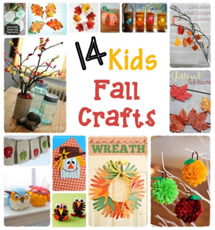 DIY Kids Fall Craft Ideas