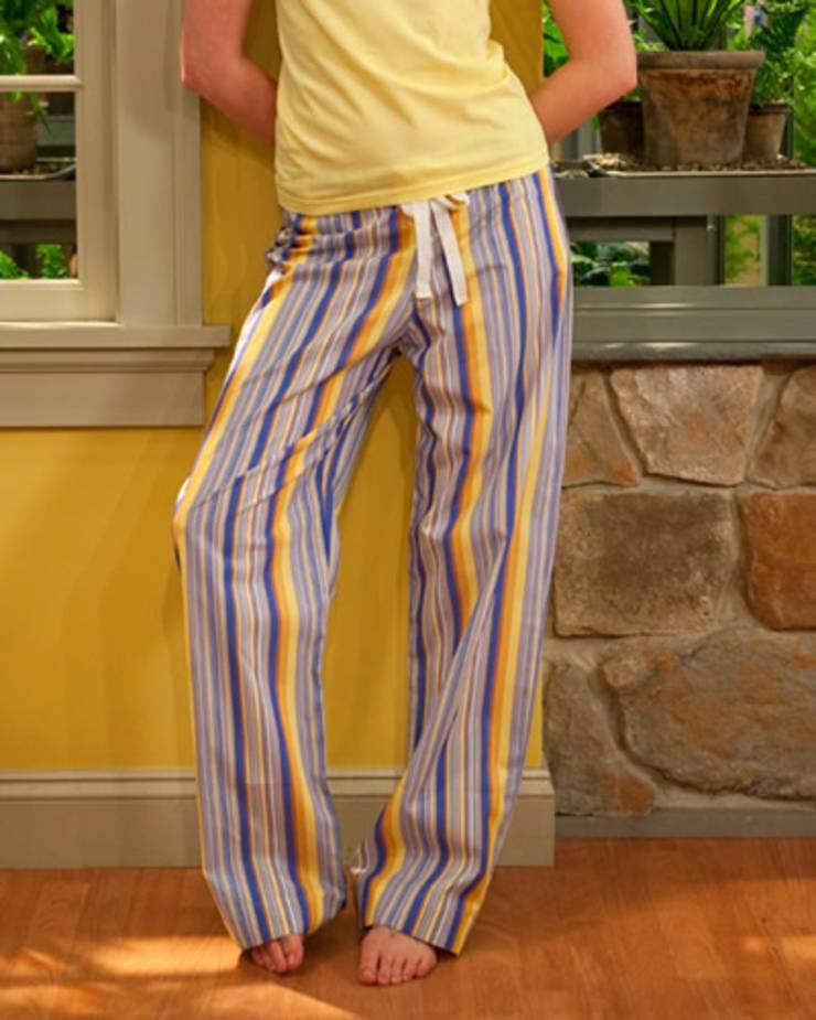 drawstring pajama pants tutorial