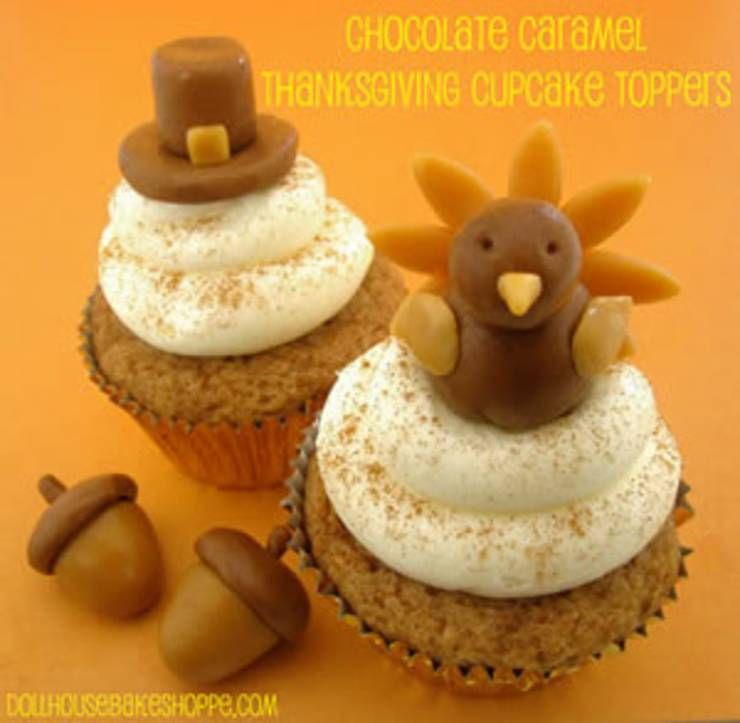 easy thanksgiving cupcakes