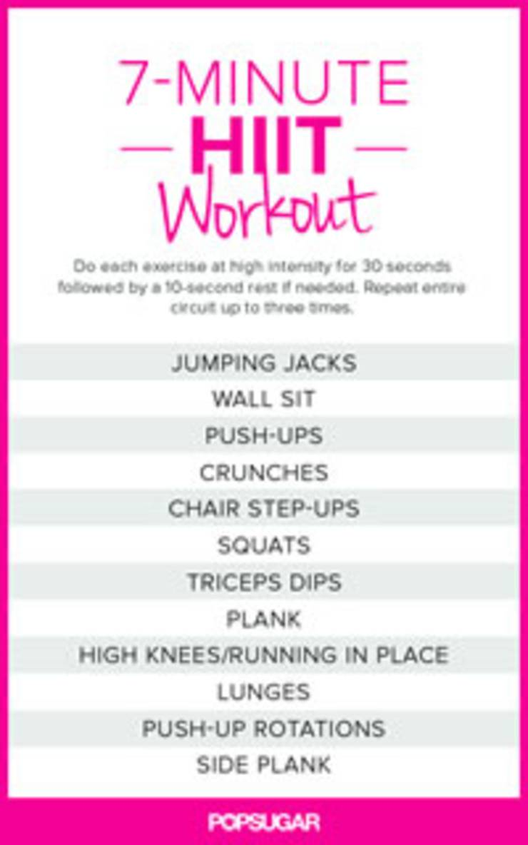 7 Minute Circuit Workout