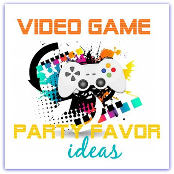 kids video game party favor ideas