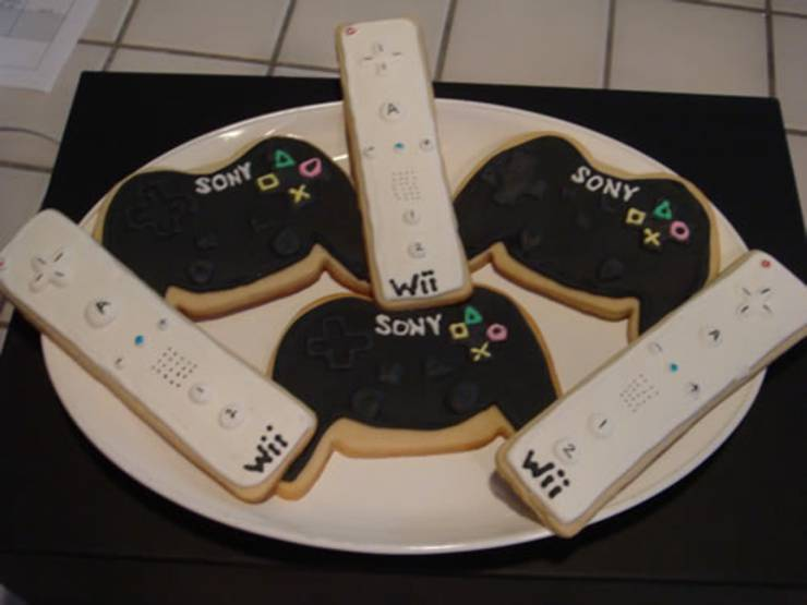 mobile video game party favors