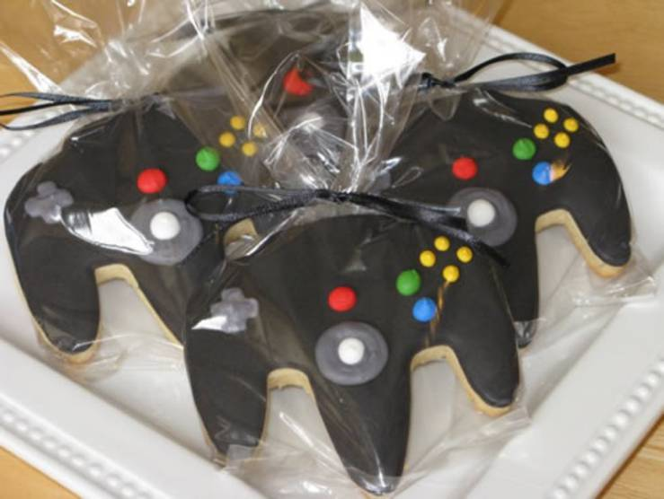 teenager video game party favor
