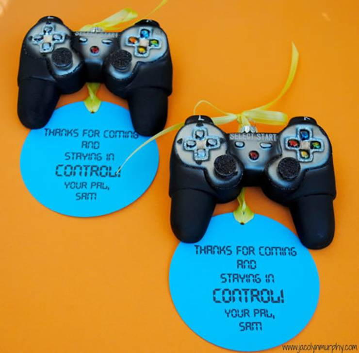 video game party ideas