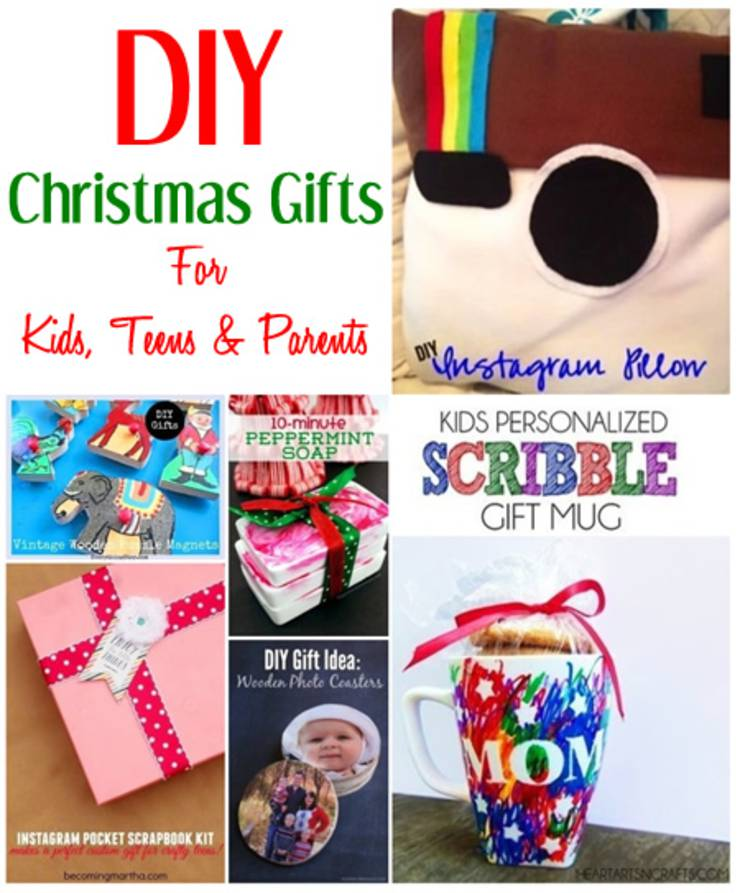 DIY Christmas Gift Ideas For Kids, Teens & Parents