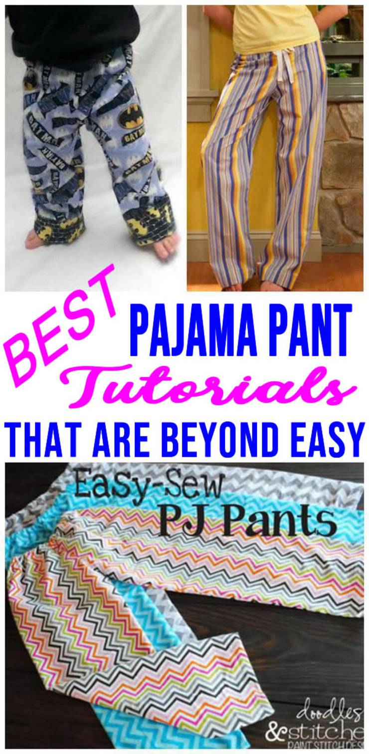 Pajama-Pant-Tutorials