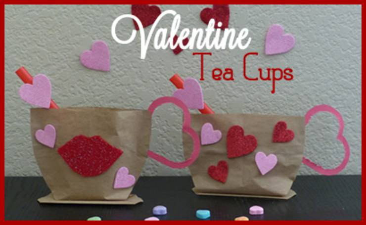 kids valentine diy craft