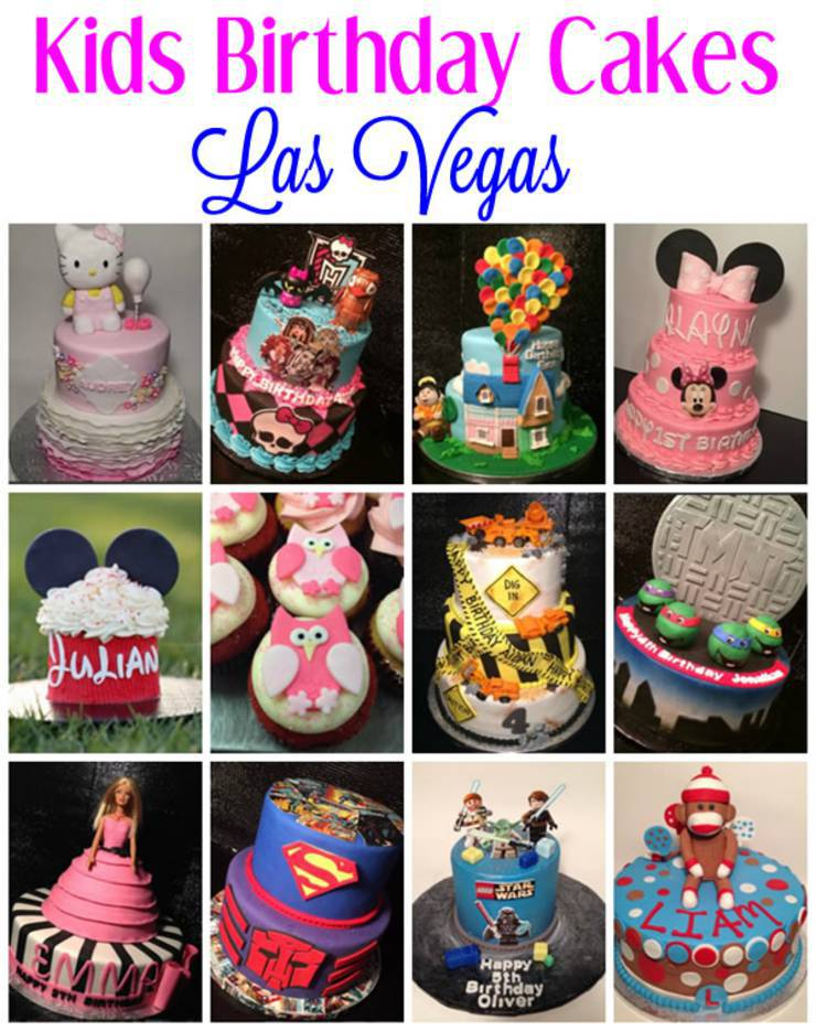 Astounding Best Kids Birthday Cakes Las Vegas Nv Funny Birthday Cards Online Fluifree Goldxyz