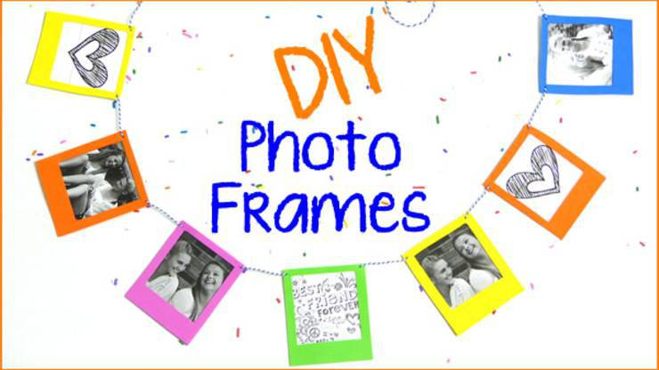 DIY Crafts – Polaroid Frame Banner