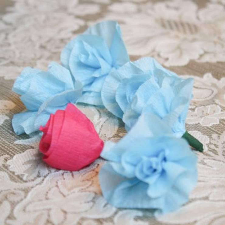Easy Crepe Paper Flowers