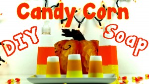 DIY Candy Corn Soap