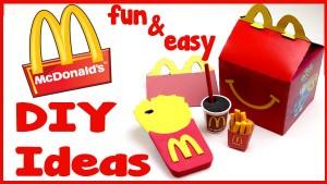 mcdonalds_diy craft ideas