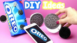 Oreo Notebooks_Oreo Phone Case_Miniature DIY Pens