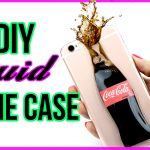 diy liquid soda phone case