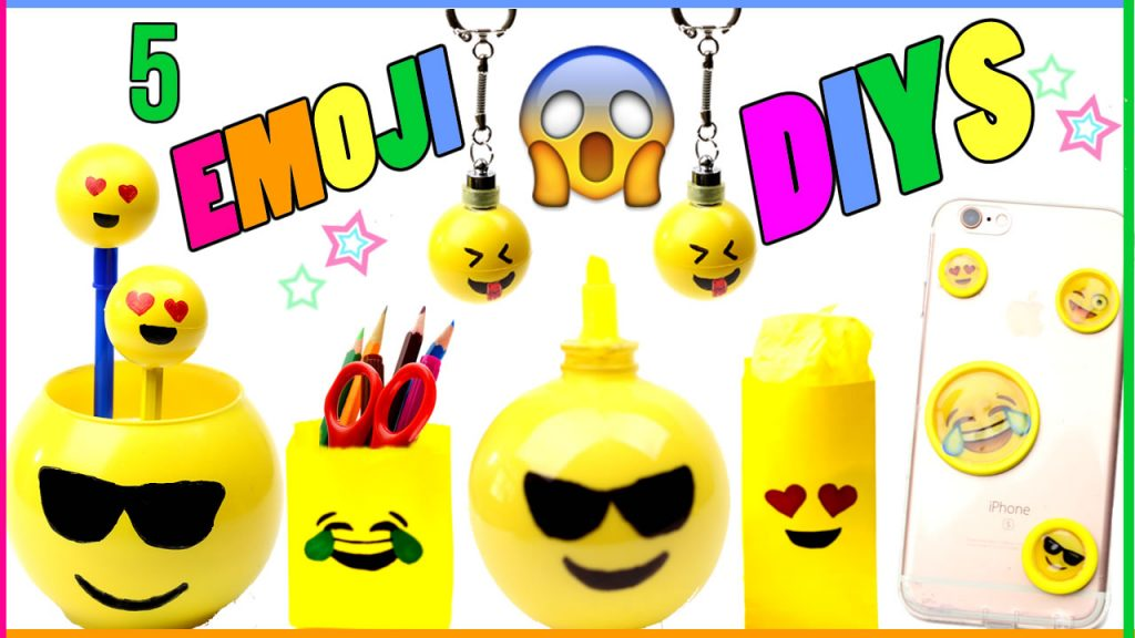 DIY Emoji Crafts