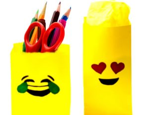 Emoji Gift Bag DIY