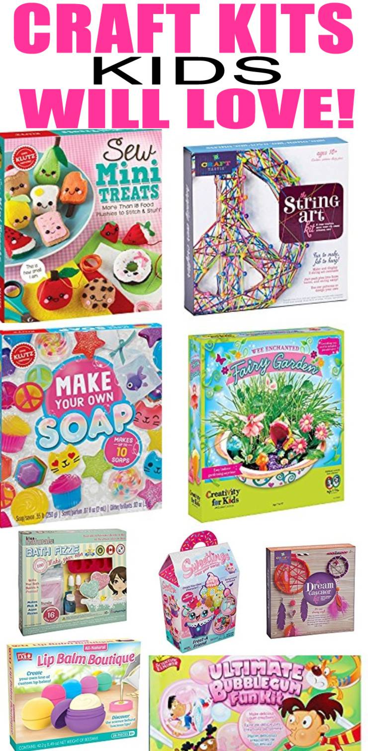Craft Kits That Kids Will Love