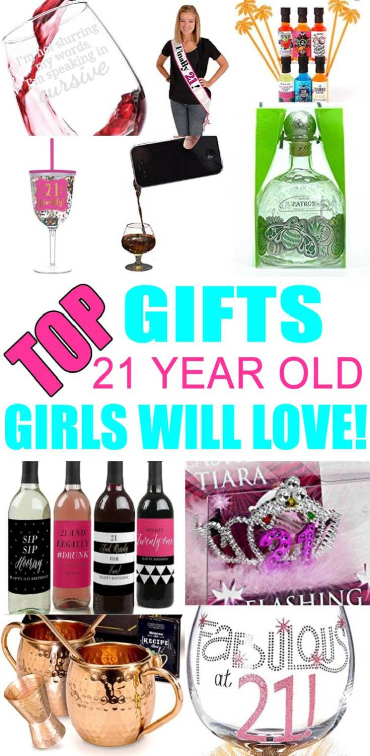 Gifts 21 Year Old Girls