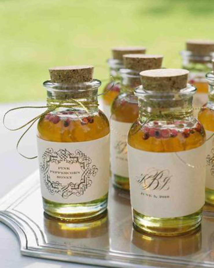 Flavored Honey Favors