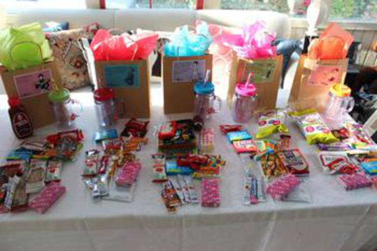Girls Weekend Goodie Bags