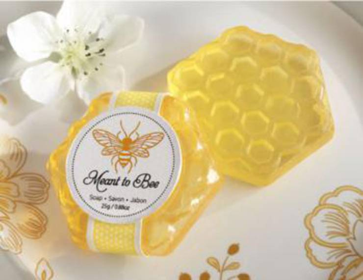Honey Comb Soap Favors