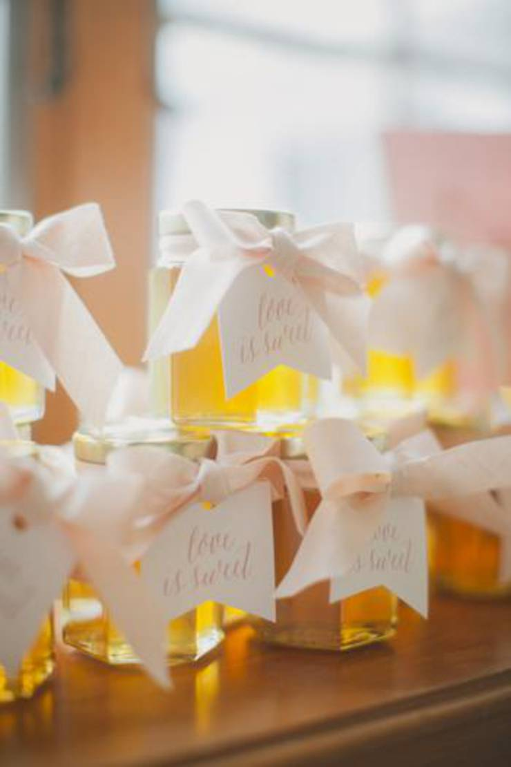 Honey Wedding Favor Idea