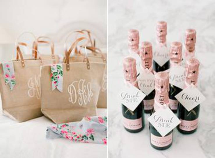 Spa Bachelorette Party Favor Bags