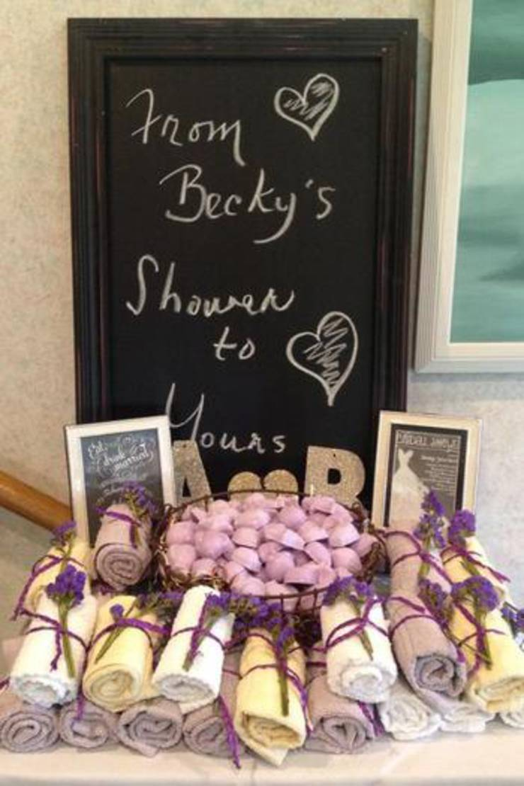 Towel And Soap Favor