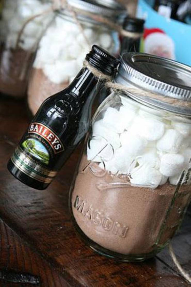 Baileys And Hot Chocolate Favors