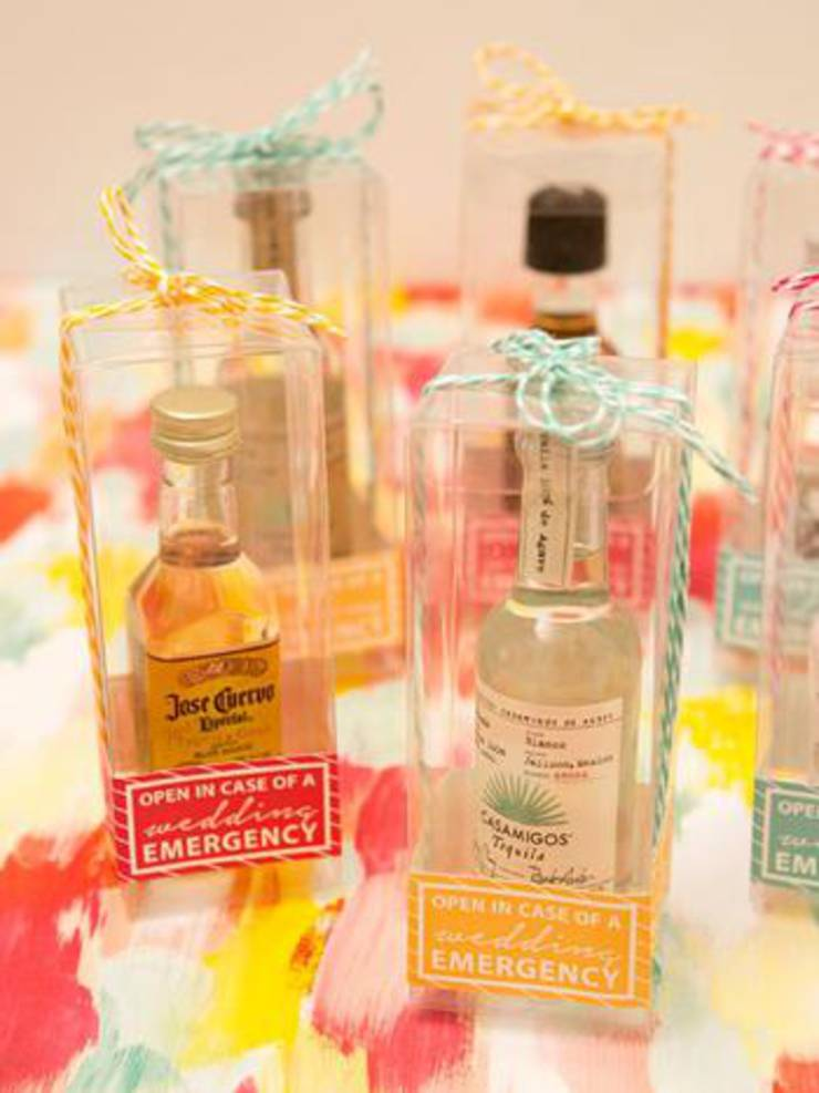 Small Bottle Alcohol Favors
