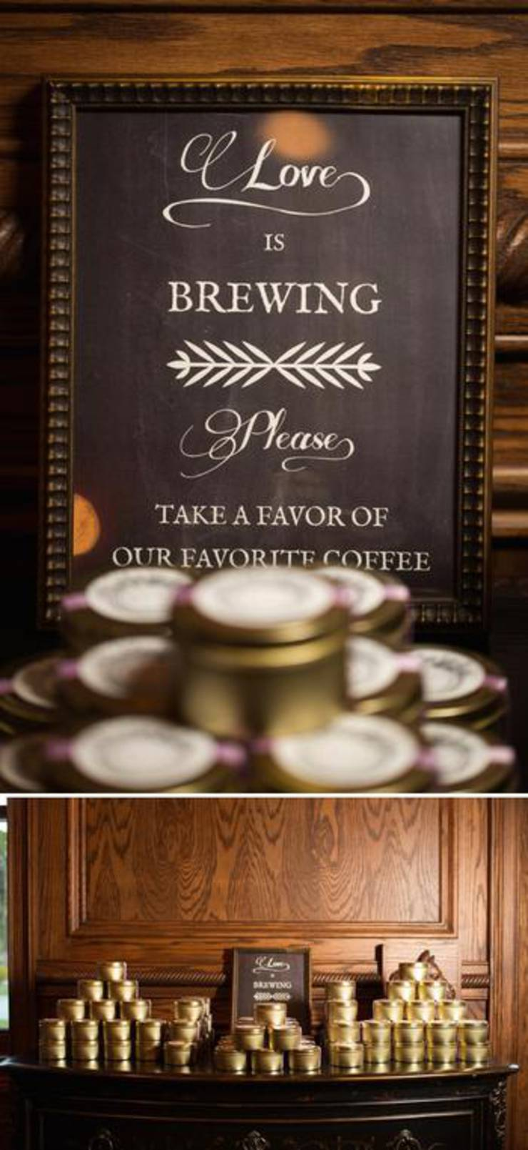 Coffee Wedding Favor Packaging