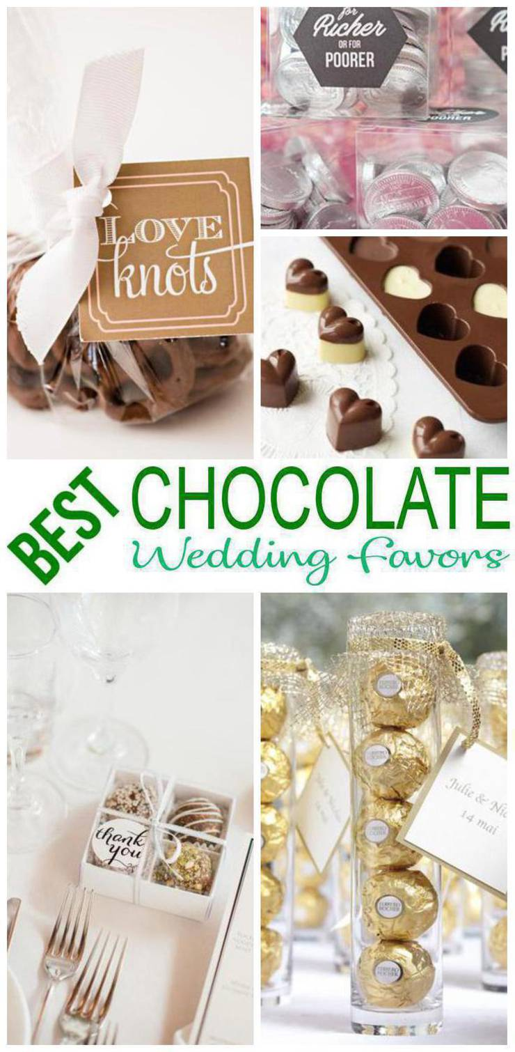 Chocolate Wedding Favors.Chocolate Wedding Favors