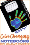 Coolest Color Changing Notebook | DIY Notebook Cover | School Supplies_Crafts