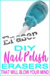 Crafts With Nail Polish Bottles | DIY School Supplies | Eraser Ideas