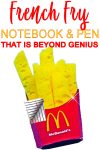 DIY Notebook & Pen Decorations | School Supply DIY Crafts For Kids & Teens | McDonalds French Fries