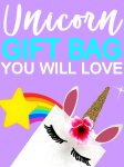 How To Make Unicorn Gift Bags | DIY Unicorn Party Bags