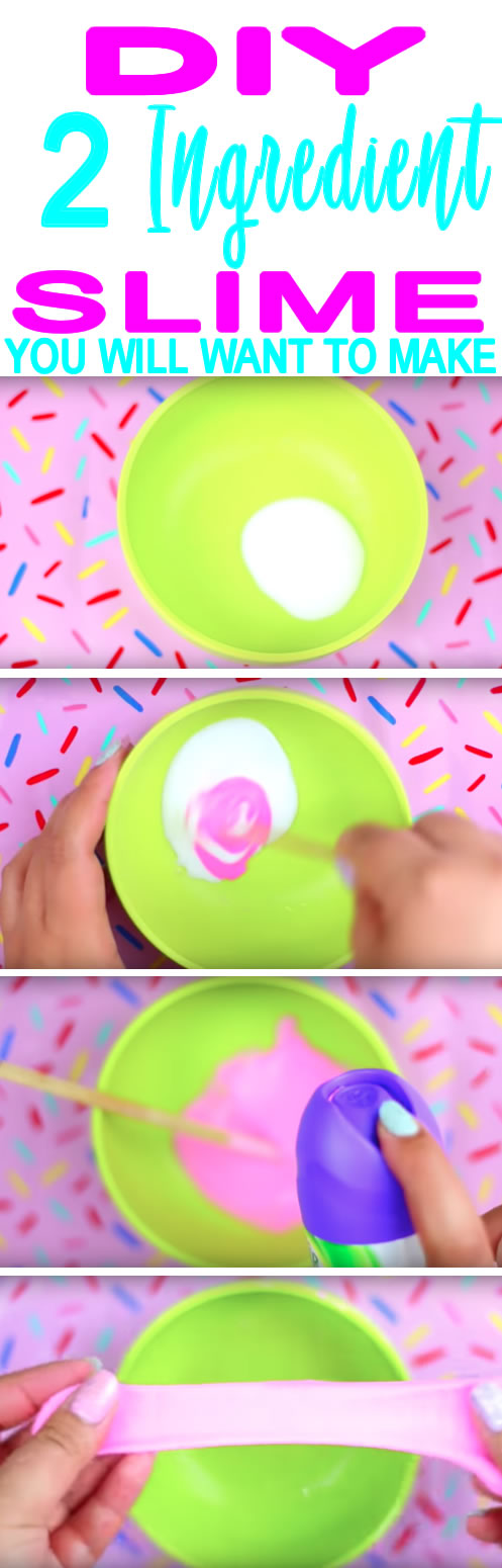 DIY 2 ingredient slime_no borax