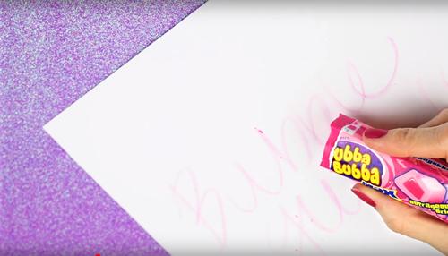 DIY Bubblegum Crayons
