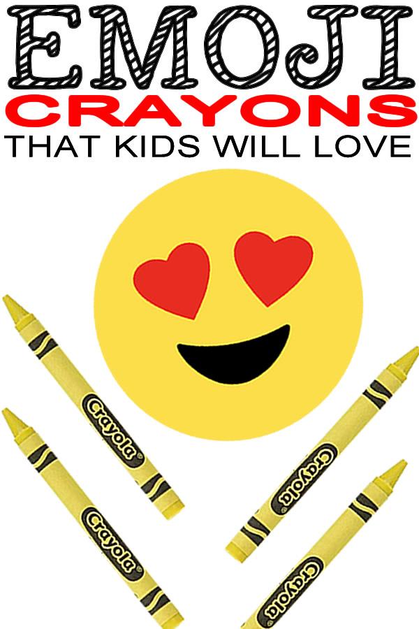 DIY Emoji Crayons_School Supplies