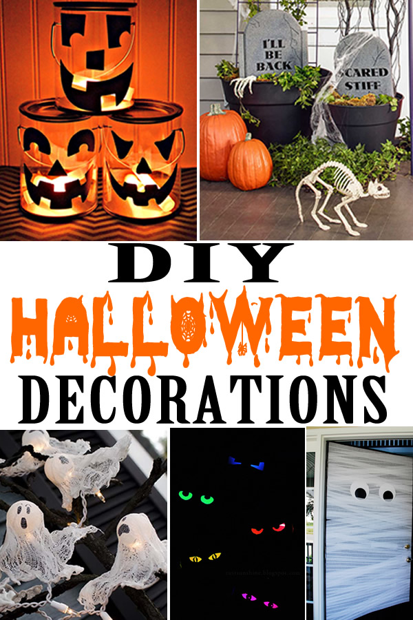 DIY Halloween Decorations_Cheap - Easy Outdoor & Home Decor _Halloween Party