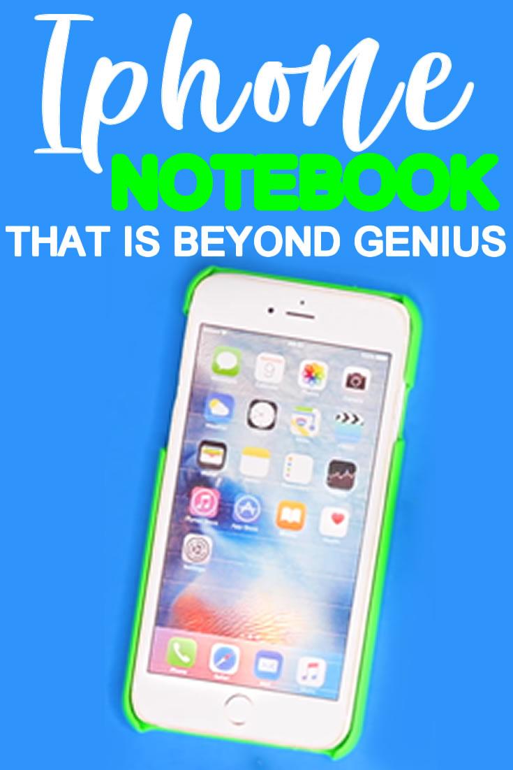 DIY Iphone Notebook _DIY School Supplies