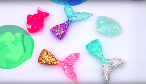 DIY Mermaid Slime Mermaid Toys